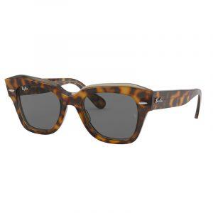 Ray-Ban RB 2186 STATE STREET Sunglasses_1292B1 - HAVANA ON TRASPARENT LIGHT BRO